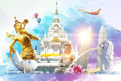 【泰新马】泰国+新加坡+马来西亚10日游