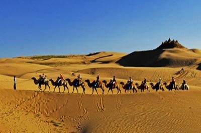 【内蒙】鄂尔多斯、辉腾锡勒草原、响沙湾、万家惠水世界、呼和浩特双卧7日游