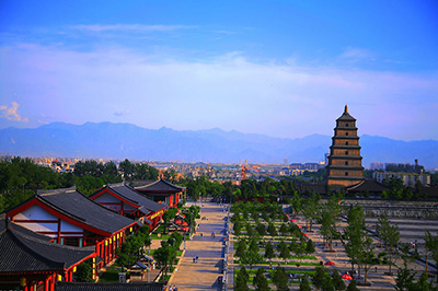 【西安】大唐芙蓉园+汤峪温泉+白鹿原影视城三日游