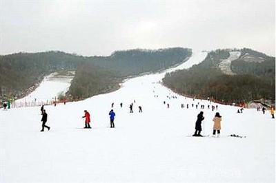 【河南】尧山大峡谷滑雪、福泉温泉二日游