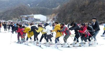 【河南】尧山滑雪乐园、福泉温泉冰火2日游
