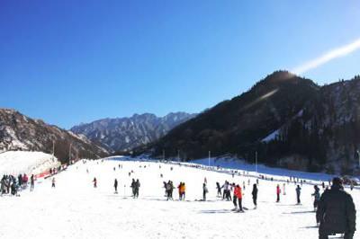 【西安】竹林畔滑雪+白鹿原影视城+西安市区2日游