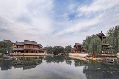 【河南】洛阳牡丹、洛邑古城、丽景门、博物馆2日游