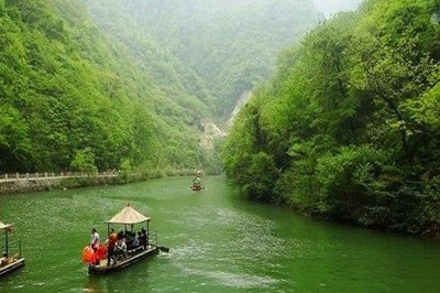 【陕西】商南金丝峡一日游